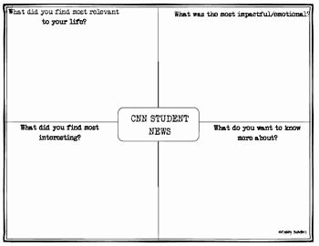 Cnn Student News Worksheet New 754 Best Images About 4th Grade Ela Writing Reading Esl On