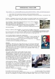 Cnn Students News Worksheet Elegant English Teaching Worksheets the News