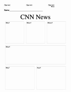 Cnn Students News Worksheet Lovely Cnn Student News Freebie Middle School