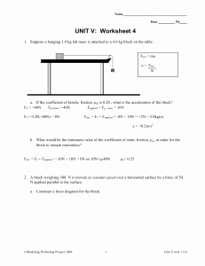 Coefficient Of Friction Worksheet Answers Elegant Friction Problems Worksheet Answer these In Your Notebook