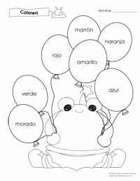 Colors In Spanish Worksheet Beautiful Spanish Spanish Worksheets and Spanish Alphabet On Pinterest