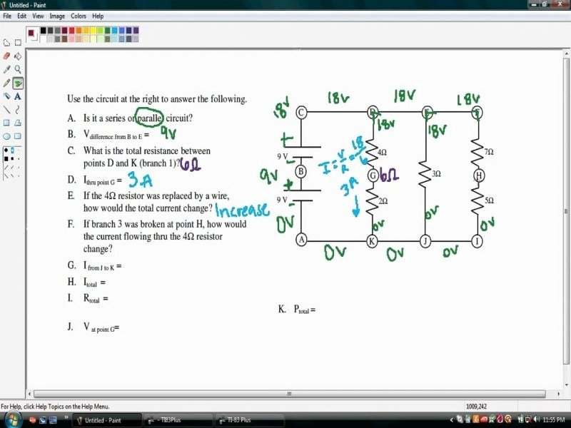 Combination Circuits Worksheet with Answers Best Of Bination Circuits Worksheet Free Printable Worksheets