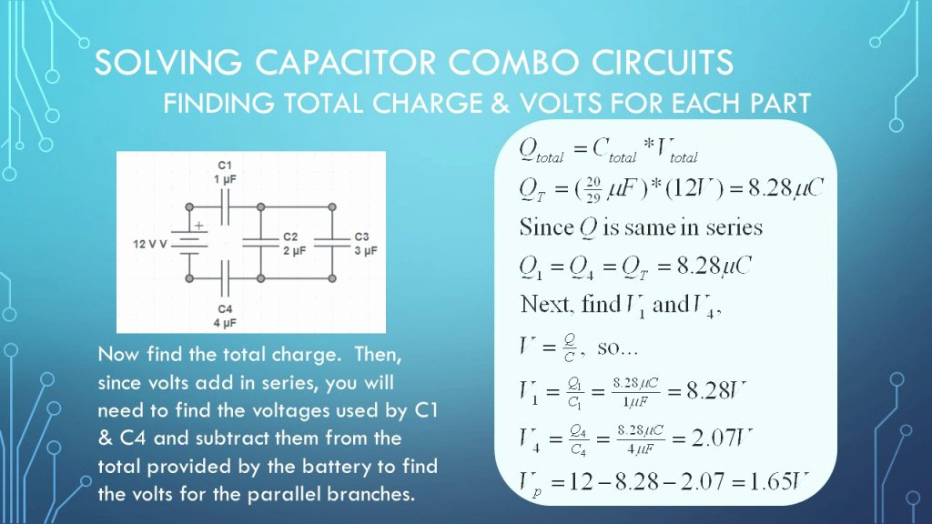 Combination Circuits Worksheet with Answers Fresh Our Review Of Capacitor Circuits In Series Parallel