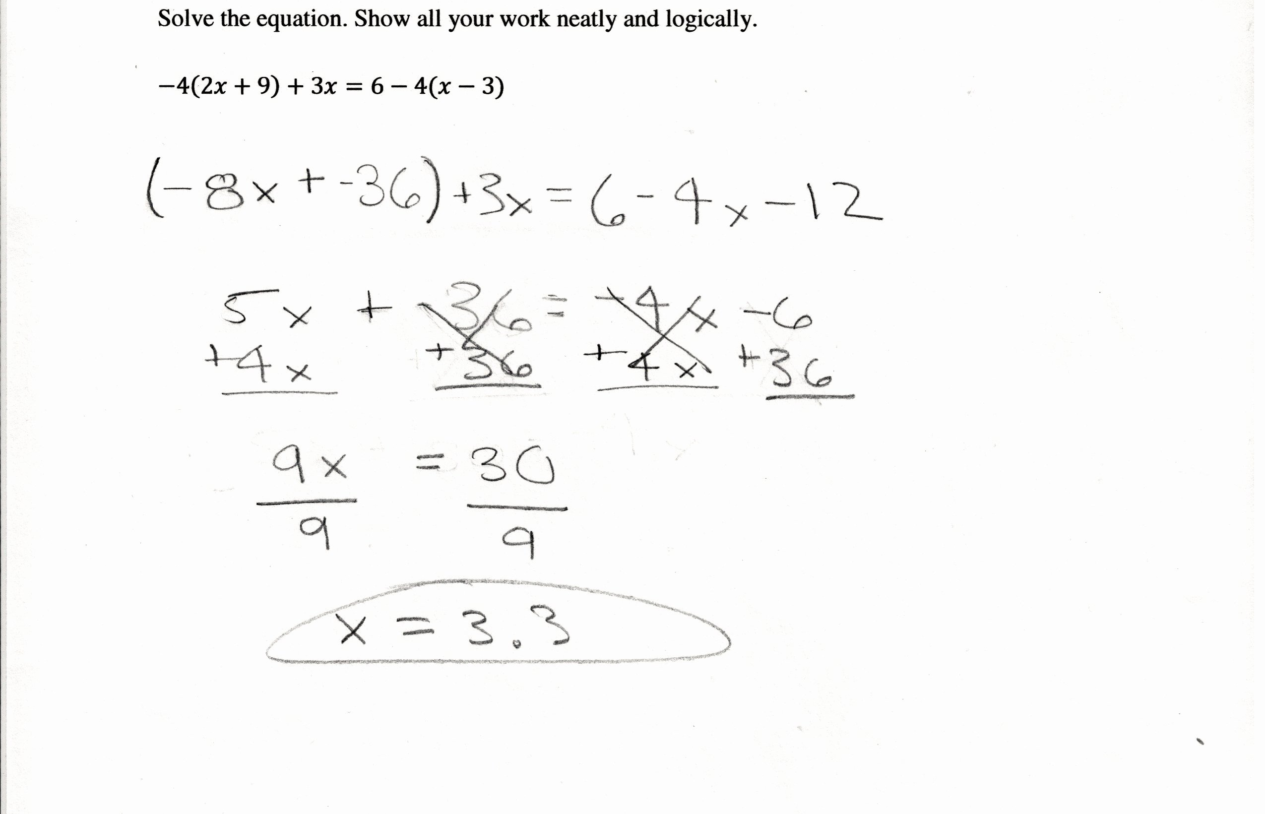 Combining Like Terms Equations Worksheet Luxury Bining Like Terms and Distributive Property Equations