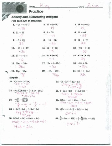 Combining Like Terms Practice Worksheet Beautiful Worksheet 1 2 Factorization Of Integers