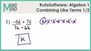 Combining Like Terms Practice Worksheet Best Of Bining Like Terms Practice Worksheet Math Worksheets