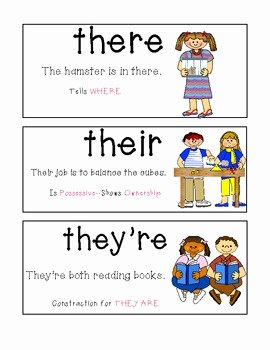 Commonly Confused Words Worksheet New Homophone Posters and Worksheets Monly Confused Words