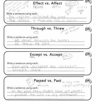 Commonly Misspelled Words Worksheet Inspirational Monly Misspelled Words Notes and Worksheets