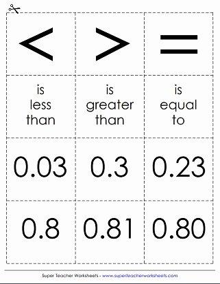 paring decimals