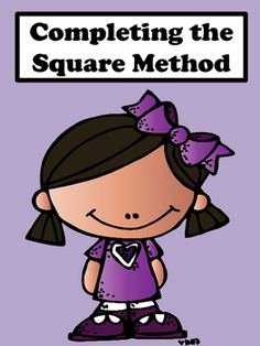 Completing the Square Practice Worksheet Awesome 1000 Images About Math Ideas On Pinterest