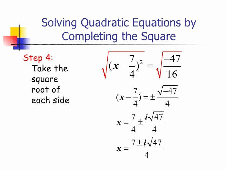 Completing the Square Practice Worksheet New Pleting the Square Worksheet