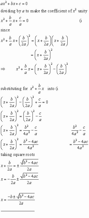 Completing the Square Worksheet Awesome solving Quadratic Equations by Pleting the Square