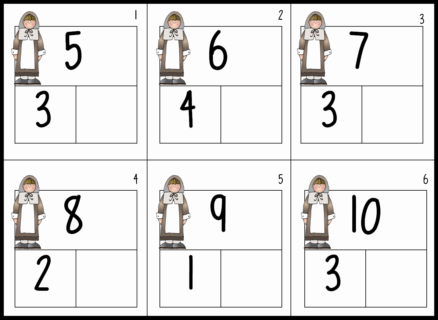 Composing and Decomposing Numbers Worksheet Awesome First Grade Wow Splat the Cat Fun and A Little November