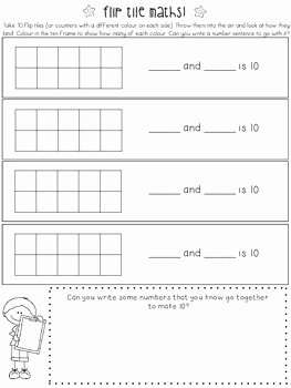 Composing and Decomposing Numbers Worksheet Elegant Posing and De Posing Number by Collaborative