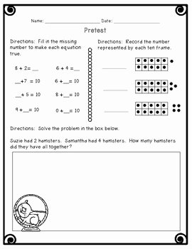 Composing and Decomposing Numbers Worksheet Elegant Posing and De Posing Numbers Worksheets Activities