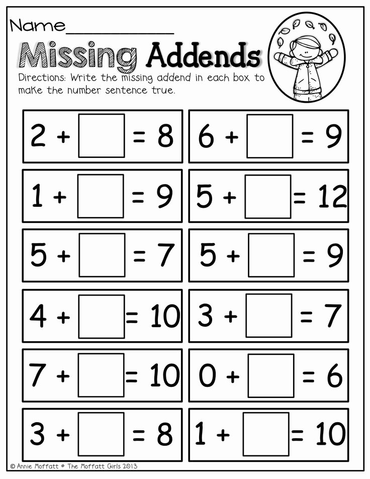 Composing and Decomposing Numbers Worksheet Inspirational Missing Addends Line Games Best Games Resource