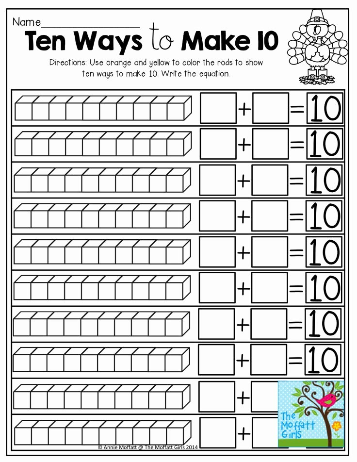 Composing and Decomposing Numbers Worksheet Luxury 25 Best Ideas About De Posing Numbers On Pinterest