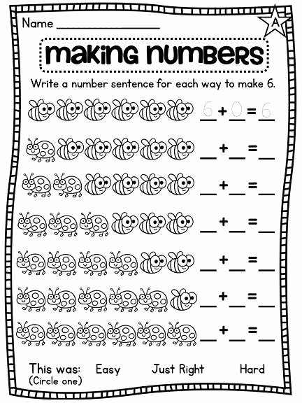 Composing and Decomposing Numbers Worksheet New De Posing Numbers Worksheets