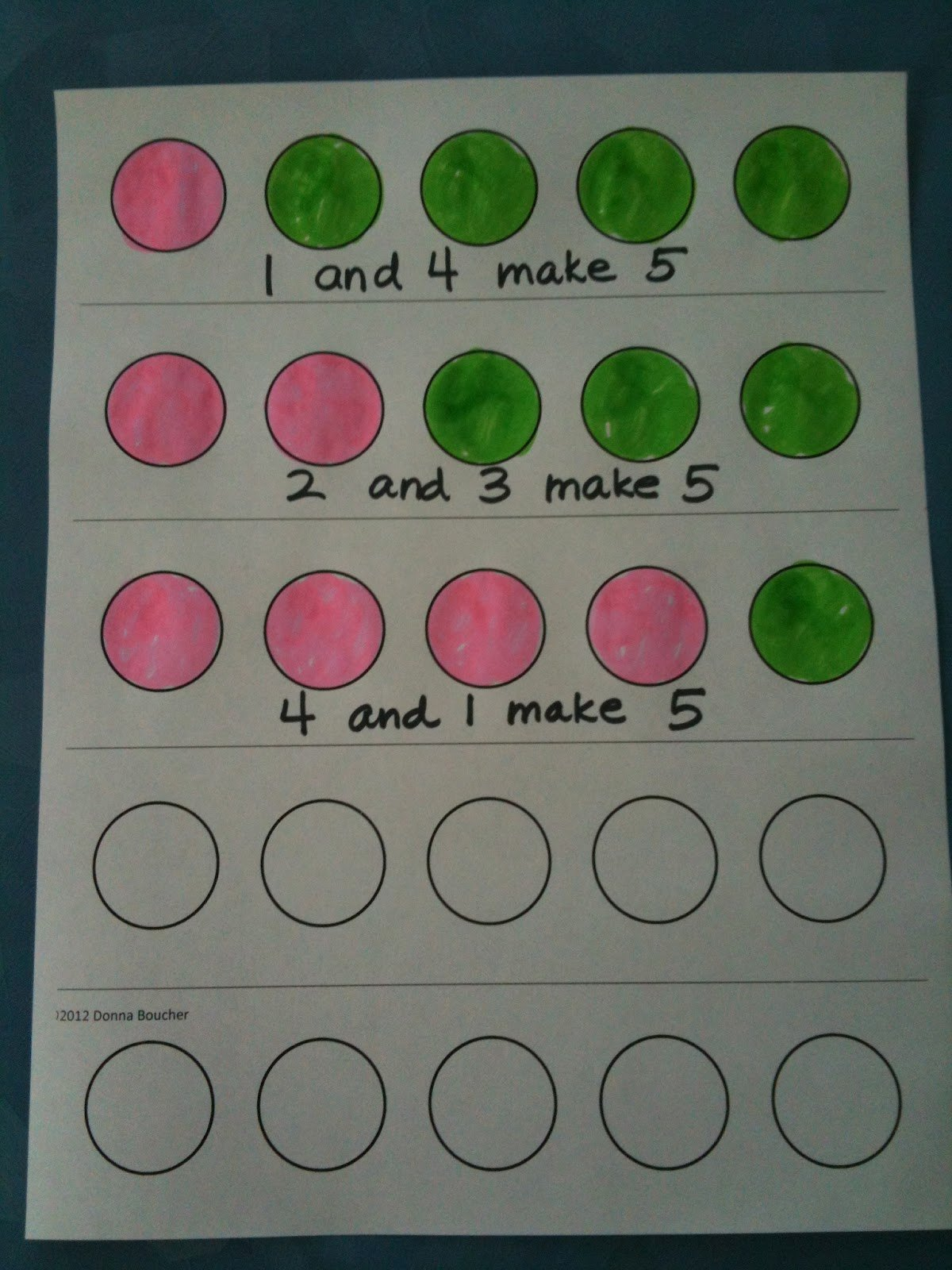 Composing and Decomposing Numbers Worksheet Unique Math Coach S Corner