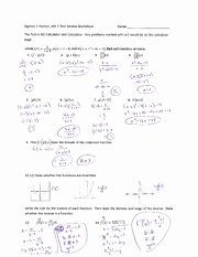 Composite Function Worksheet Answer Key Inspirational Position Of Functions Homework Manipulating Functions