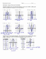 Composite Function Worksheet Answer Key New Position Of Functions Homework Manipulating Functions