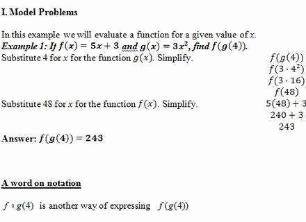 Composite Functions Worksheet Answers Luxury Posite Functions Worksheet