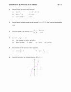 Composite Functions Worksheet Answers Unique Posite & Inverse Function Worksheet by Chuckieirish