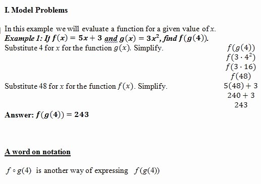 Composition Of Functions Worksheet Answers Luxury Position Of Functions Of Worksheet Pdf and Answer Key