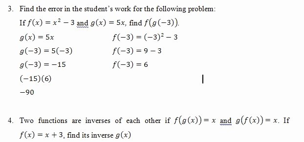 Composition Of Functions Worksheet Inspirational Position Of Functions Of Worksheet Pdf and Answer Key