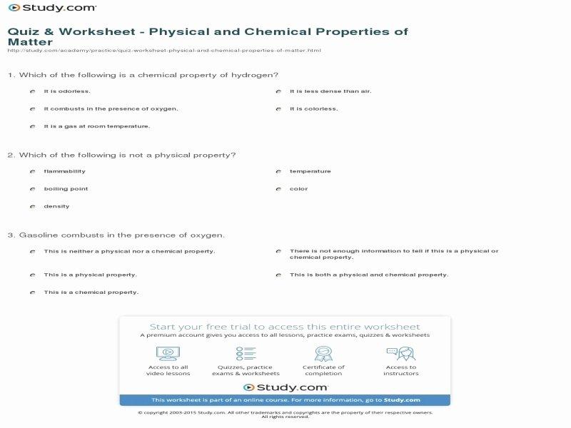 Composition Of Matter Worksheet Best Of Position Matter Worksheet Answers Free Printable