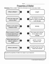 Composition Of Matter Worksheet Lovely 7 Best Of force and Motion Review Worksheets