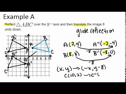 Composition Of Transformations Worksheet Elegant Position Of Transformations Video Geometry