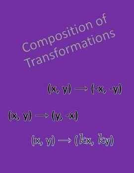 Composition Of Transformations Worksheet Fresh 25 Best Ideas About Geometry Worksheets On Pinterest