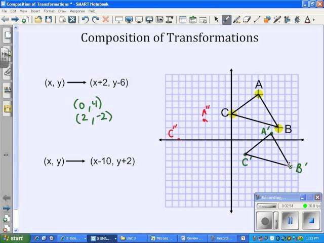 Composition Of Transformations Worksheet Fresh Geometry Transformation Position Worksheet Answer Key