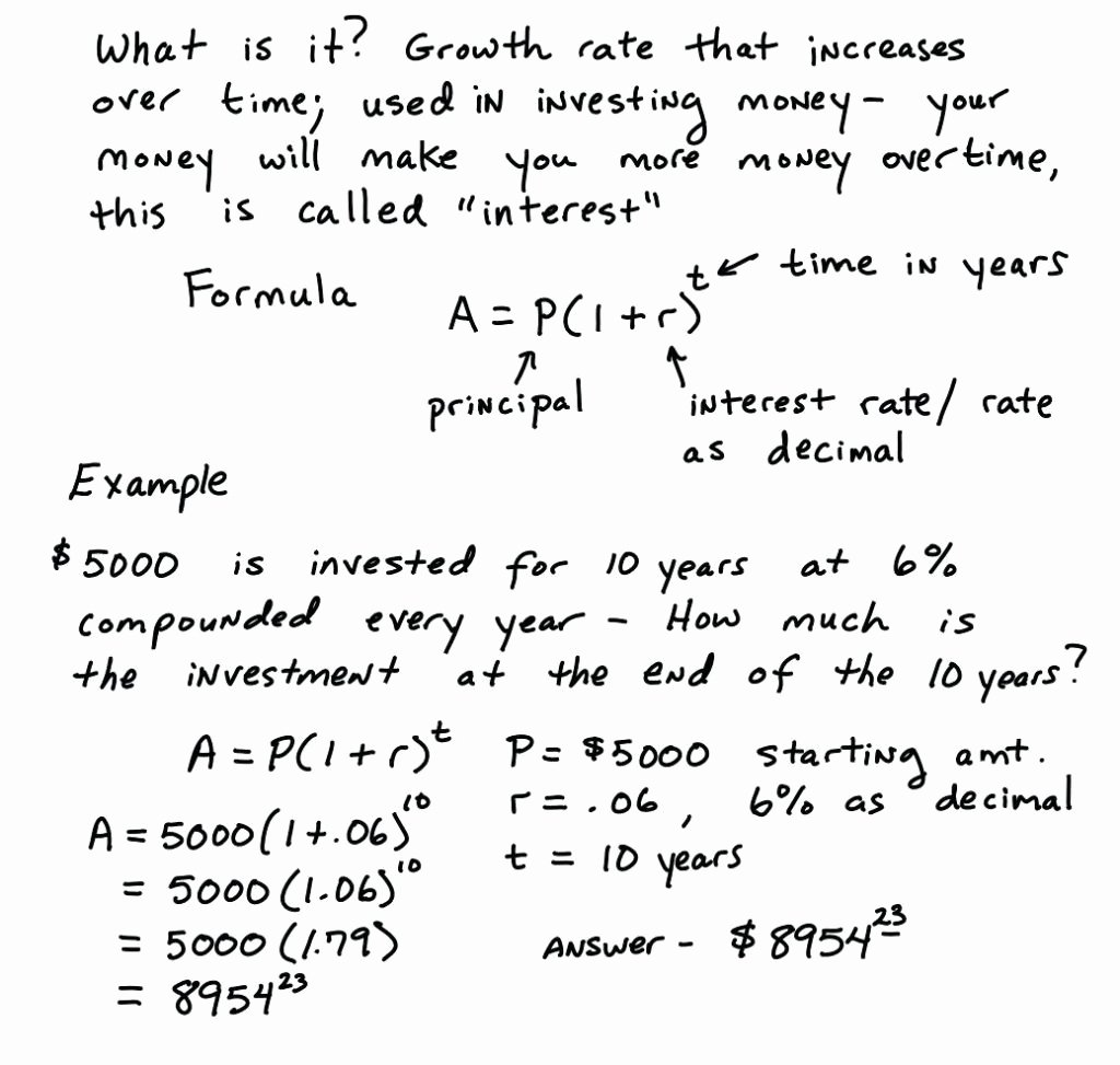 Compound Interest Worksheet Answers Inspirational Continuous Pound Interest Worksheet with Answers Math
