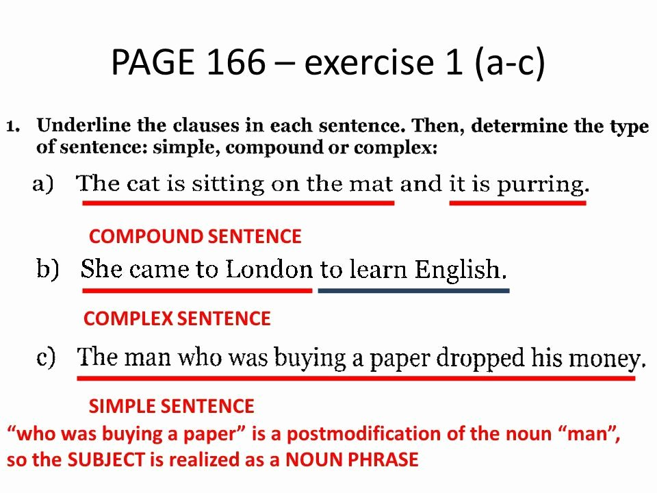 Compound Sentences Worksheet Pdf New Simple Pound and Plex Sentences Worksheet Pdf