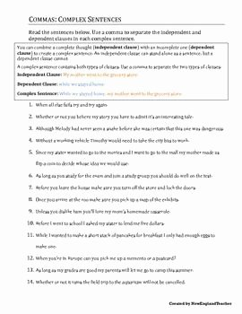 Compound Sentences Worksheet with Answers Awesome Ma Practice Packet 2