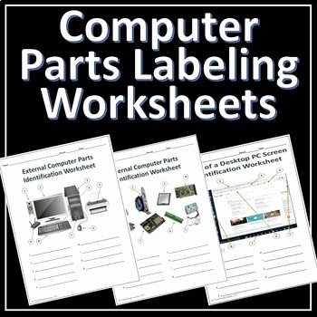 Computer Basics Worksheet Answer Key Lovely 3 Puter Parts Labeling Worksheets Activity by Techcheck