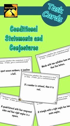 Conditional Statement Worksheet Geometry Awesome Fun Deductive Reasoning Activity Laws Of Detachment