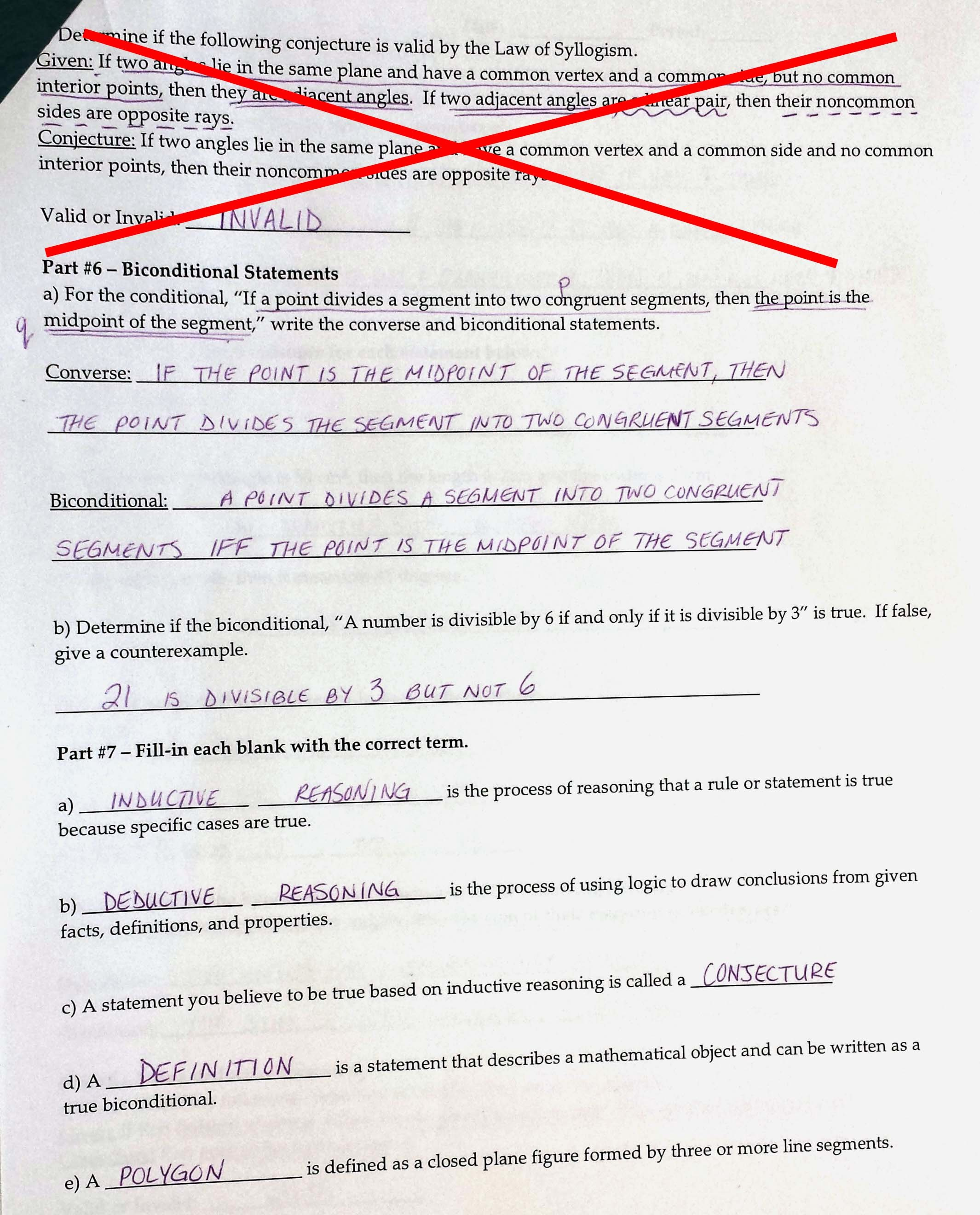 Conditional Statement Worksheet Geometry New Using I Statements Worksheet