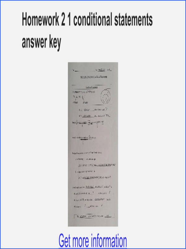Conditional Statements Worksheet with Answers Fresh Conditional Statements Worksheet