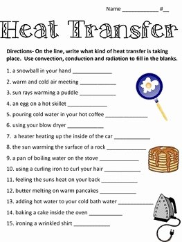 Conduction Convection Radiation Worksheet Best Of Heat Transfer Convection by Math and Science Lover