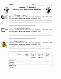 Conduction Convection Radiation Worksheet Fresh Conduction Convection Radiation Worksheet