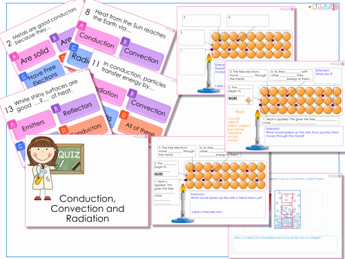 Conduction Convection Radiation Worksheet Lovely Conduction Convection and Radiation Worksheet by