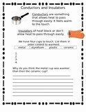 Conductors and Insulators Worksheet Lovely Conductors and Insulators Worksheets & Teaching Resources