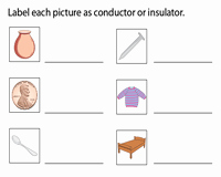 Conductors and Insulators Worksheet Unique Electricity Worksheets