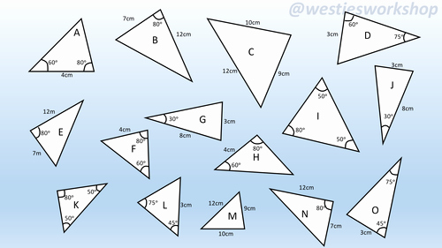 Congruent Triangles Worksheet Answer Key Beautiful Congruent Triangles Matching Activity by Supergenau