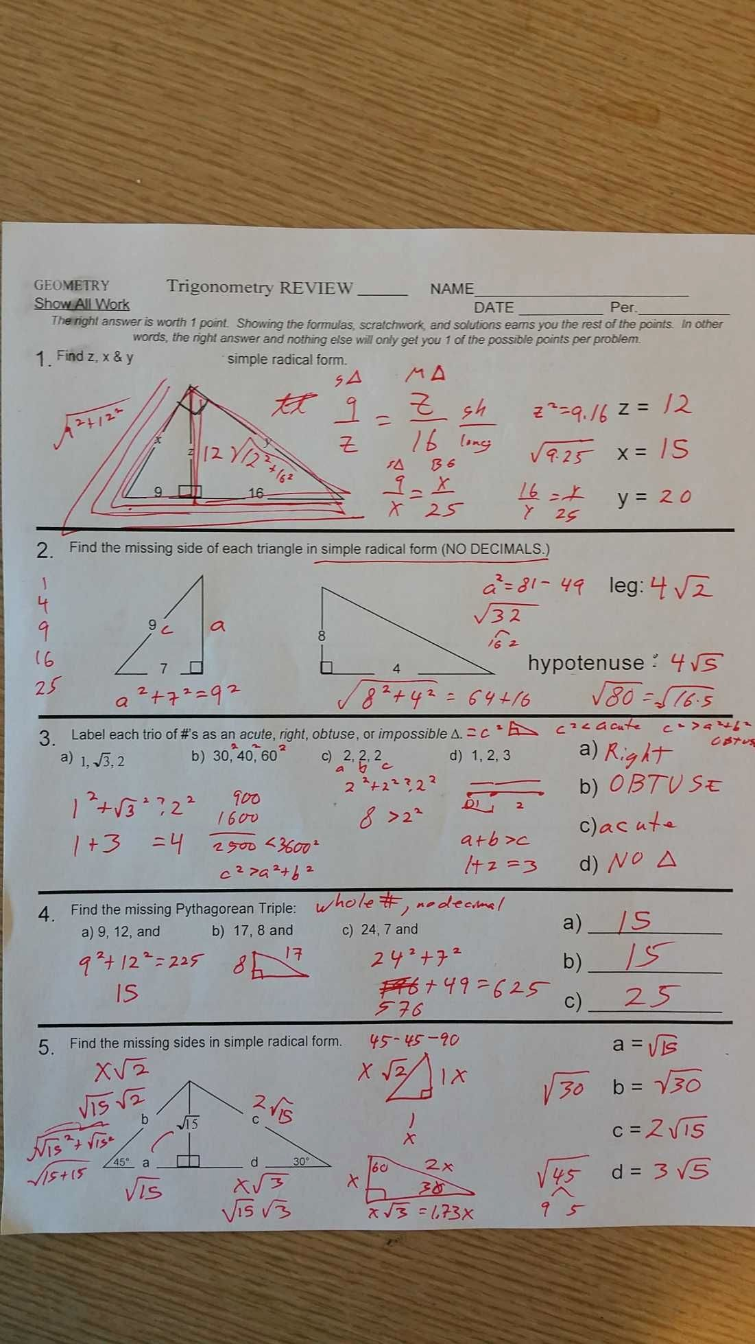 Congruent Triangles Worksheet with Answer Best Of 4 3 Practice Congruent Triangles Worksheet Answers