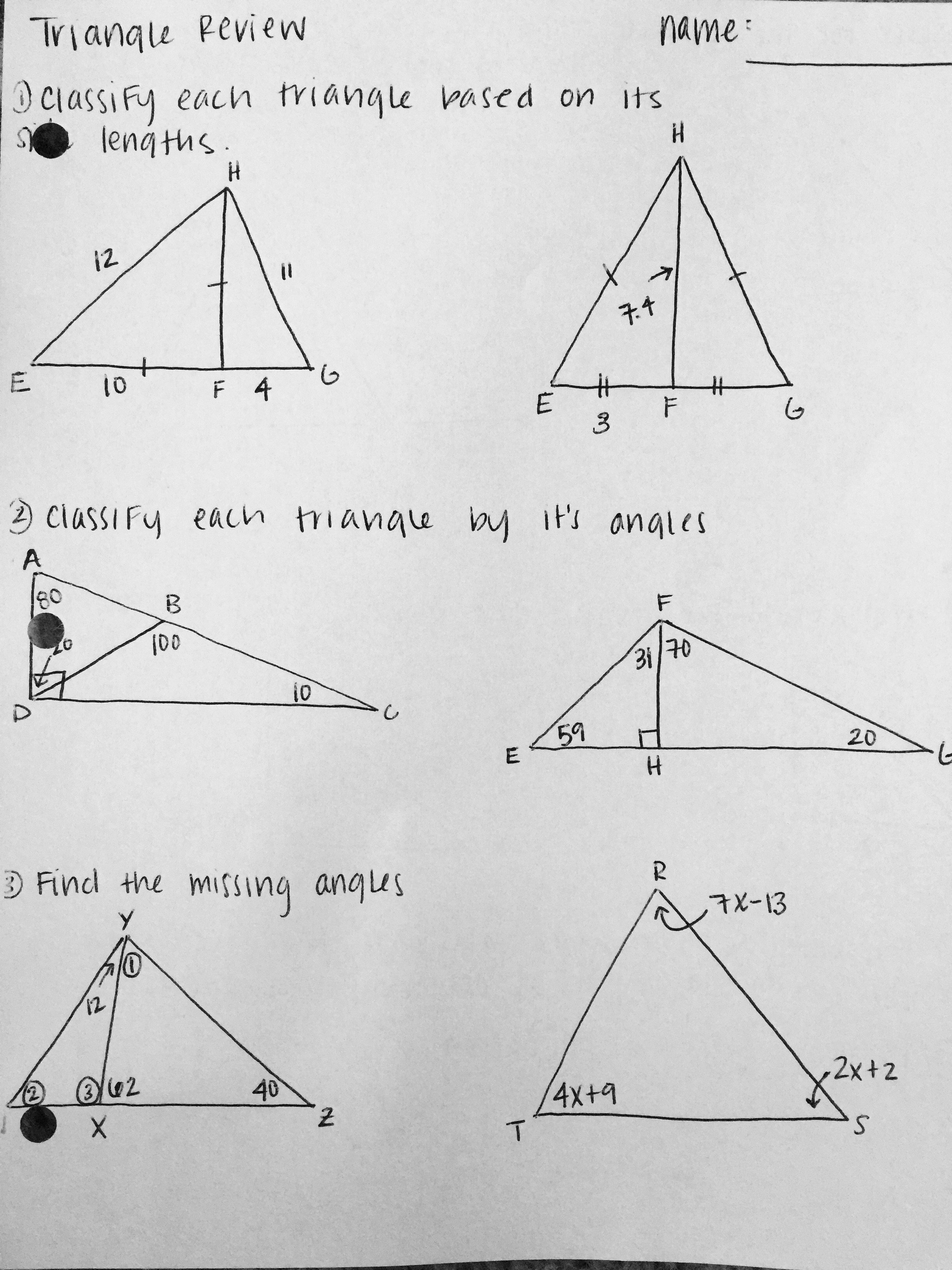 Congruent Triangles Worksheet with Answers Best Of 16 Best Of Back School to Get to Know You Worksheet
