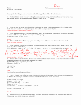 Conservation Of Energy Worksheet Answers Best Of Conservation Of Energy Worksheet 1